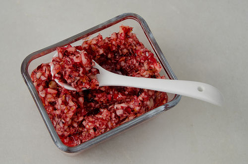 Fresh-cranberry-relish