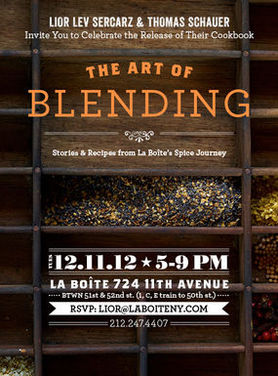 Lior Lev Sercarz, Spice Master and Author of The Art of Blending (and a Giveaway!)