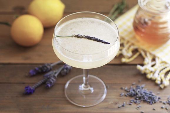 Lavender-bees-knees-cocktail-ingredients1