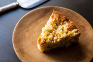 Cory Schreiber & Julie Richardson's Rhubarb Buckle with Ginger Crumb