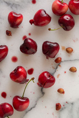 Pitted-cherries