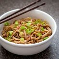 Homemade Buckwheat Soba Noodles