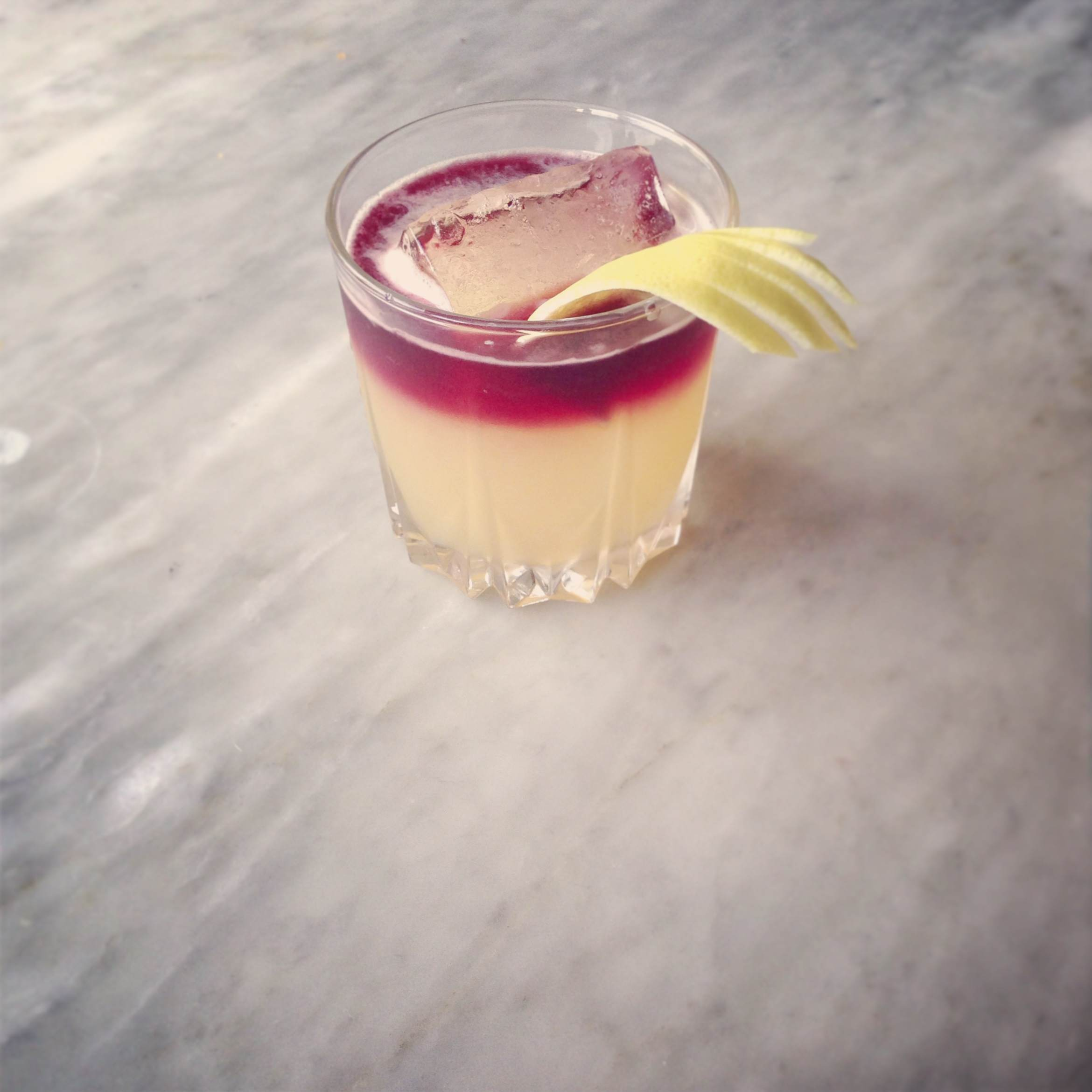 The New York Sour, Rye Whiskey Cocktail Recipe