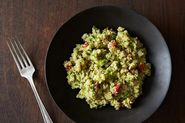 Dinner Tonight: Coconut-Lime Pork Tacos + Guacamole Quinoa
