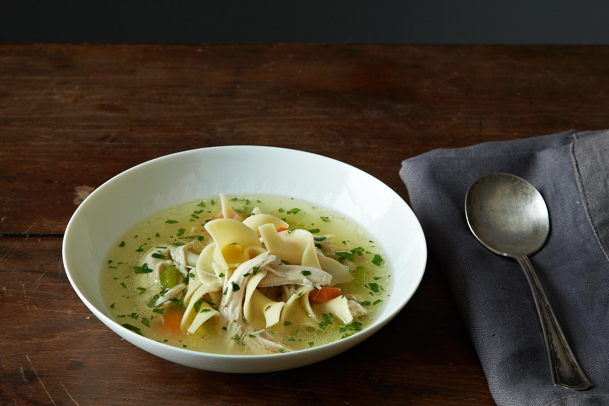 How to make chicken noodle soup without a recipe for How to cook chicken for chicken noodle soup