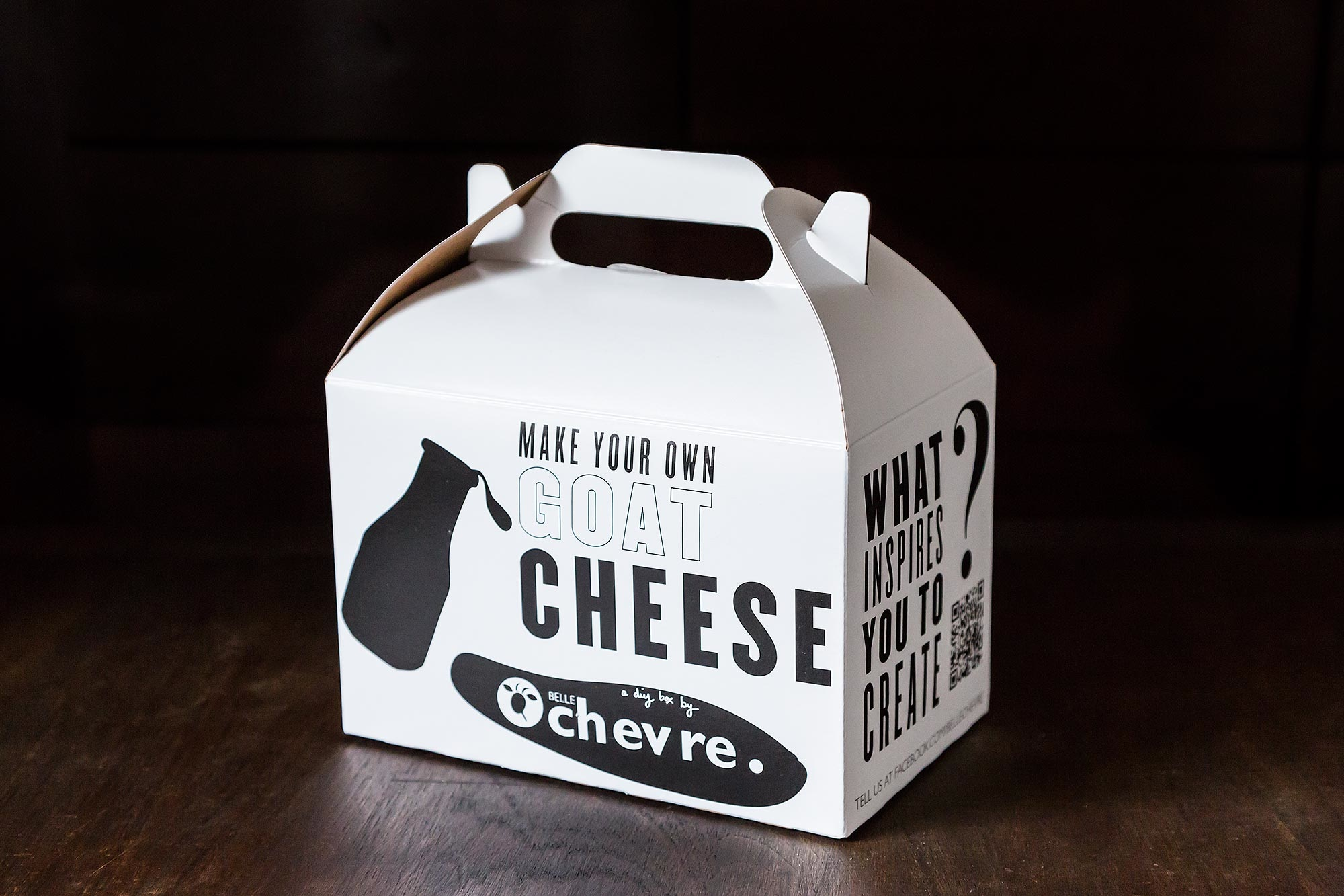Belle Chevre Goat Cheese Kit