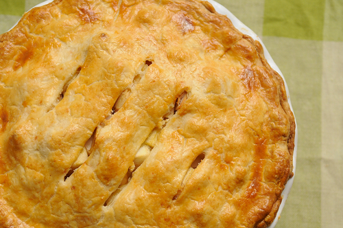 Brown Butter and Cheddar Apple Pie 