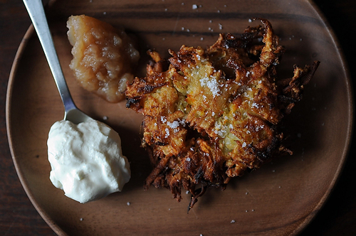 Variegated Spiced Latkes on Food52