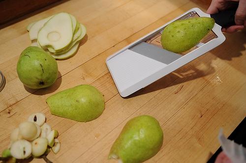 Cocoa Pear Crisps Recipe on Food52