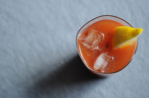 Horseradish Bloody Mary from Food52