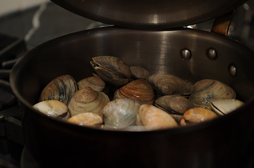 Clam Pan Roast