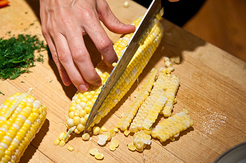 Dilled, Crunchy Sweet-Corn Salad with Buttermilk Dressing Recipe on ...