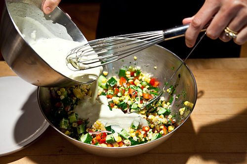 Dilled, Crunchy Sweet-Corn Salad with Buttermilk Dressing ...
