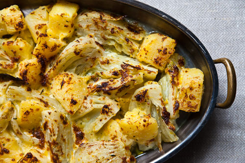 Crispy Cream-Braised Potatoes with Fennel on Food52