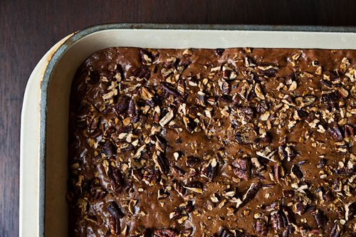Fruitcake-Inspired Brownies