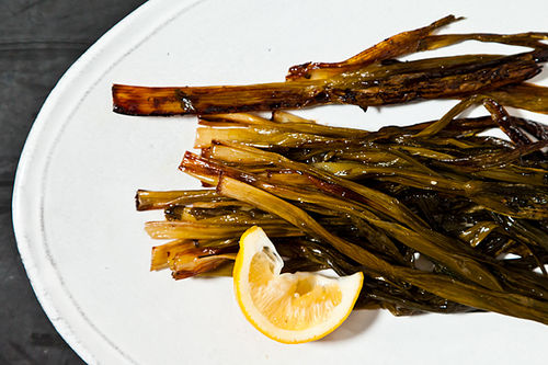 Molly Stevens&#x27; Sweet Braised Whole Scallions
