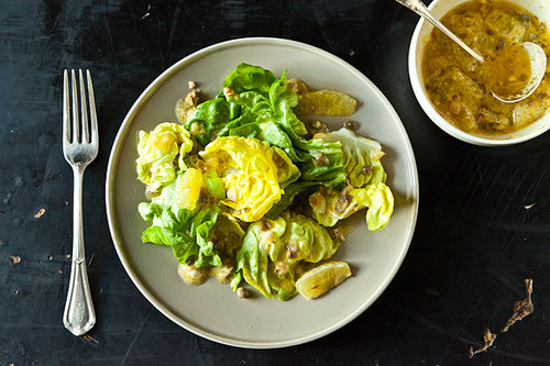 Lemon Caper Dressing on Food52