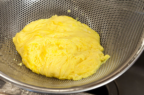 Daniel Patterson's Poached Scrambled Eggs