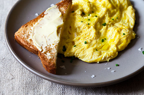 Daniel Patterson's Poached Scrambled Eggs Recipe on Food52