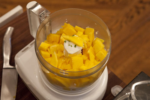 A Bowl Of Mango Sunshine