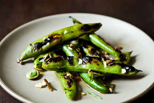 Grilled Fava Beans on Food52