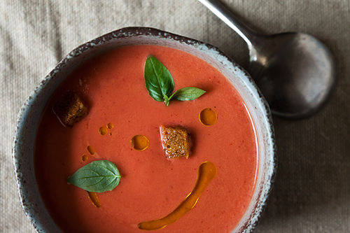 Eleven Madison Park's Strawberry Gazpacho from Food52