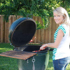 Girl on a Grill