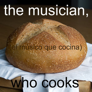 the musician, who cooks