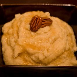 Whiskied Roasted Parsnip and Apple Puree