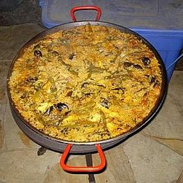 Mama and Papa's Paella from Pieds Noir Country!
