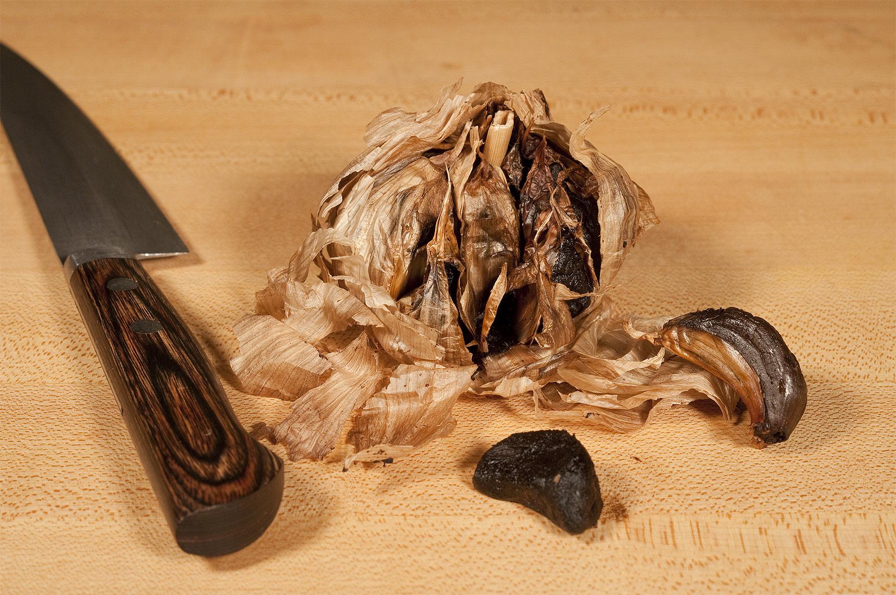"Finger Lakes Fall Relish: Butternut Squash ""Duet"" with Black Garlic"