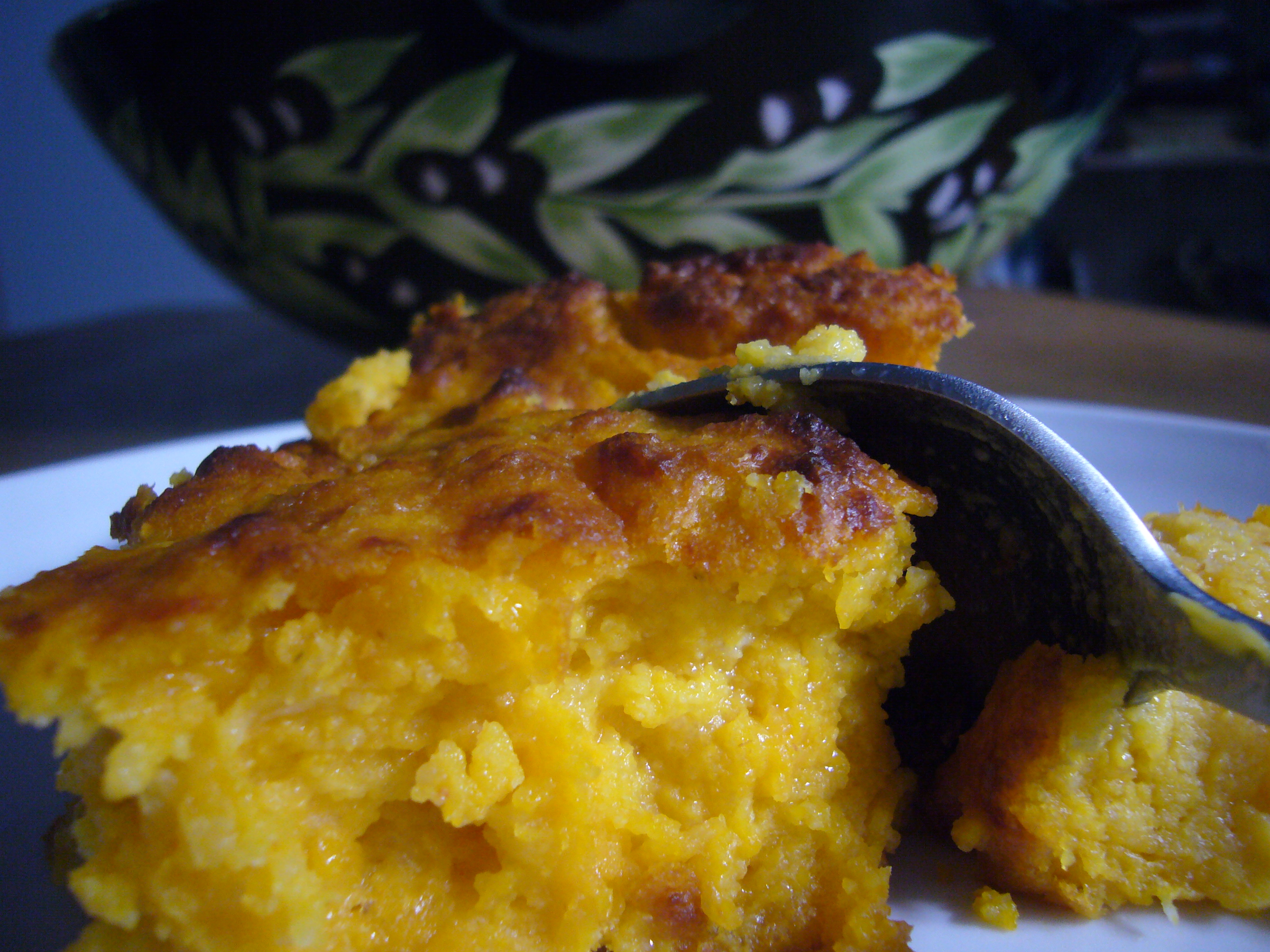 Roasted Butternut Squash Spoon Bread