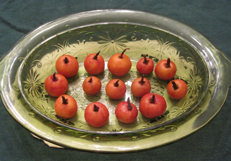 Pumpkin marzipan