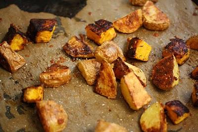 Parmesan-Roasted Butternut Squash & Potatoes
