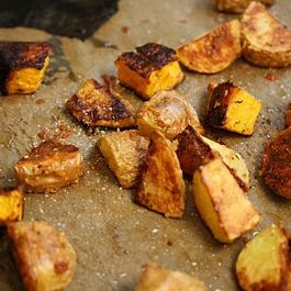 Parmesan-Roasted Butternut Squash & Potatoes