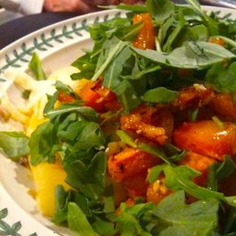 """Double Squash """"Linguine"""" With Roasted Butternut"""