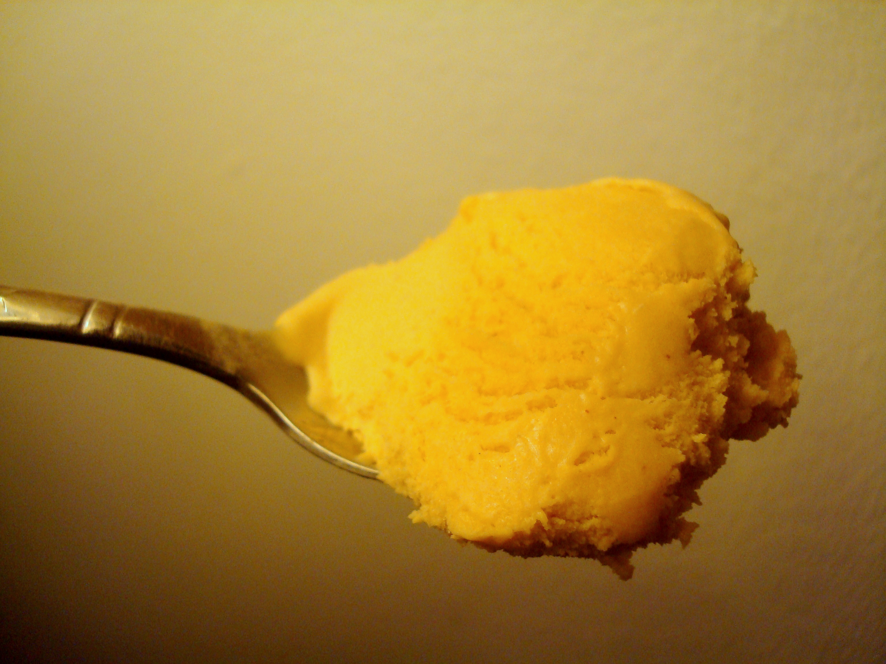 Butternut Squash and Bourbon Ice Cream