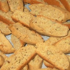 Holiday Spiced Pepita Biscotti