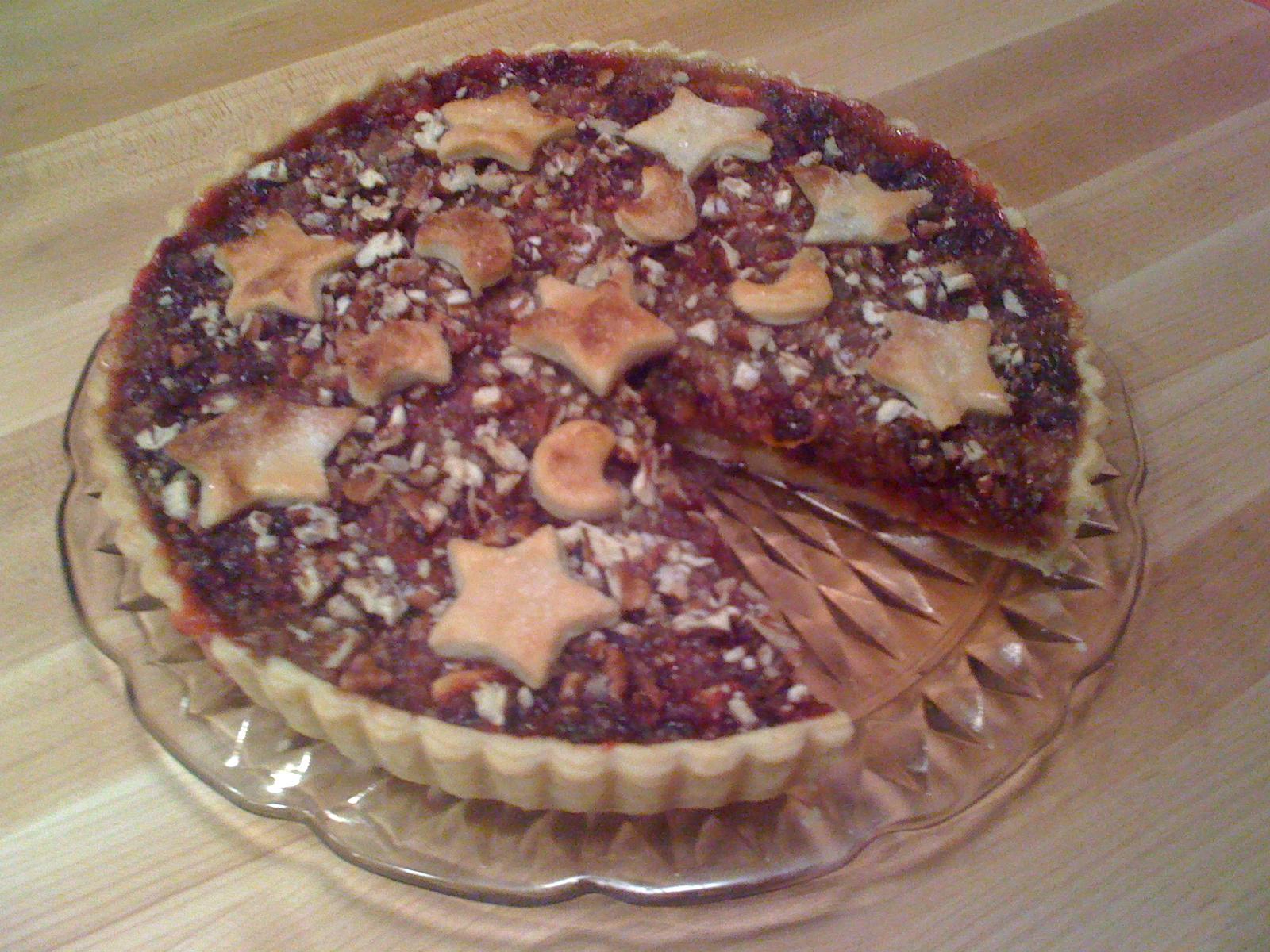 Apple-Cranberry Tart