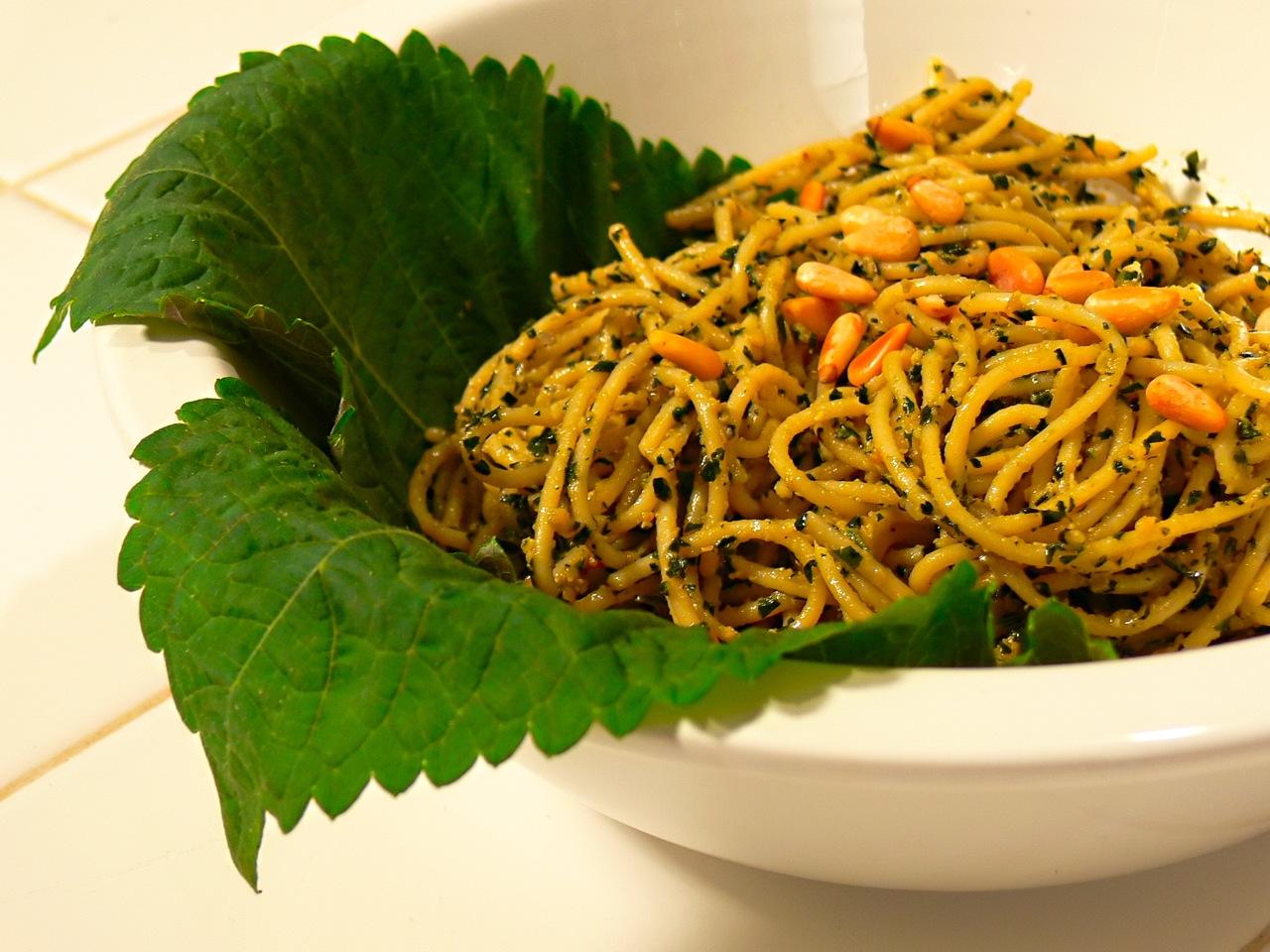 Korean Perilla Pesto