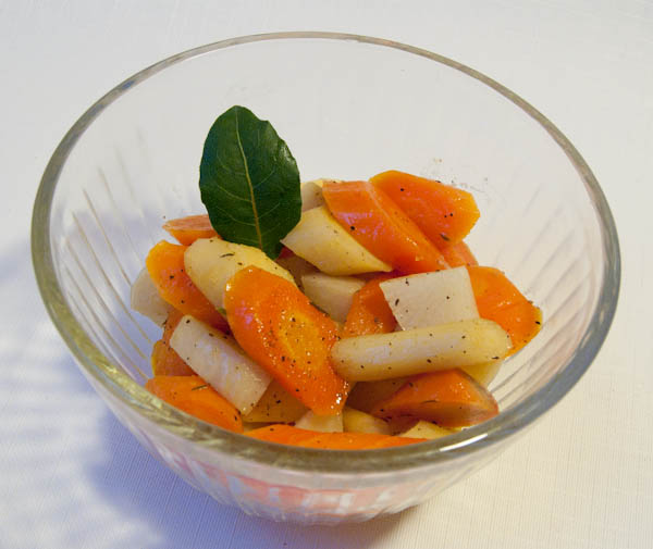 Maple Glazed Root Vegetables with Thyme