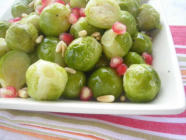 Pressure Cooker (or not) Red, White & Green Brussles Sprouts!
