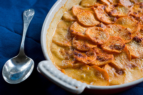 Food52's Sweet Potato And Pancetta Gratin Recipes — Dishmaps