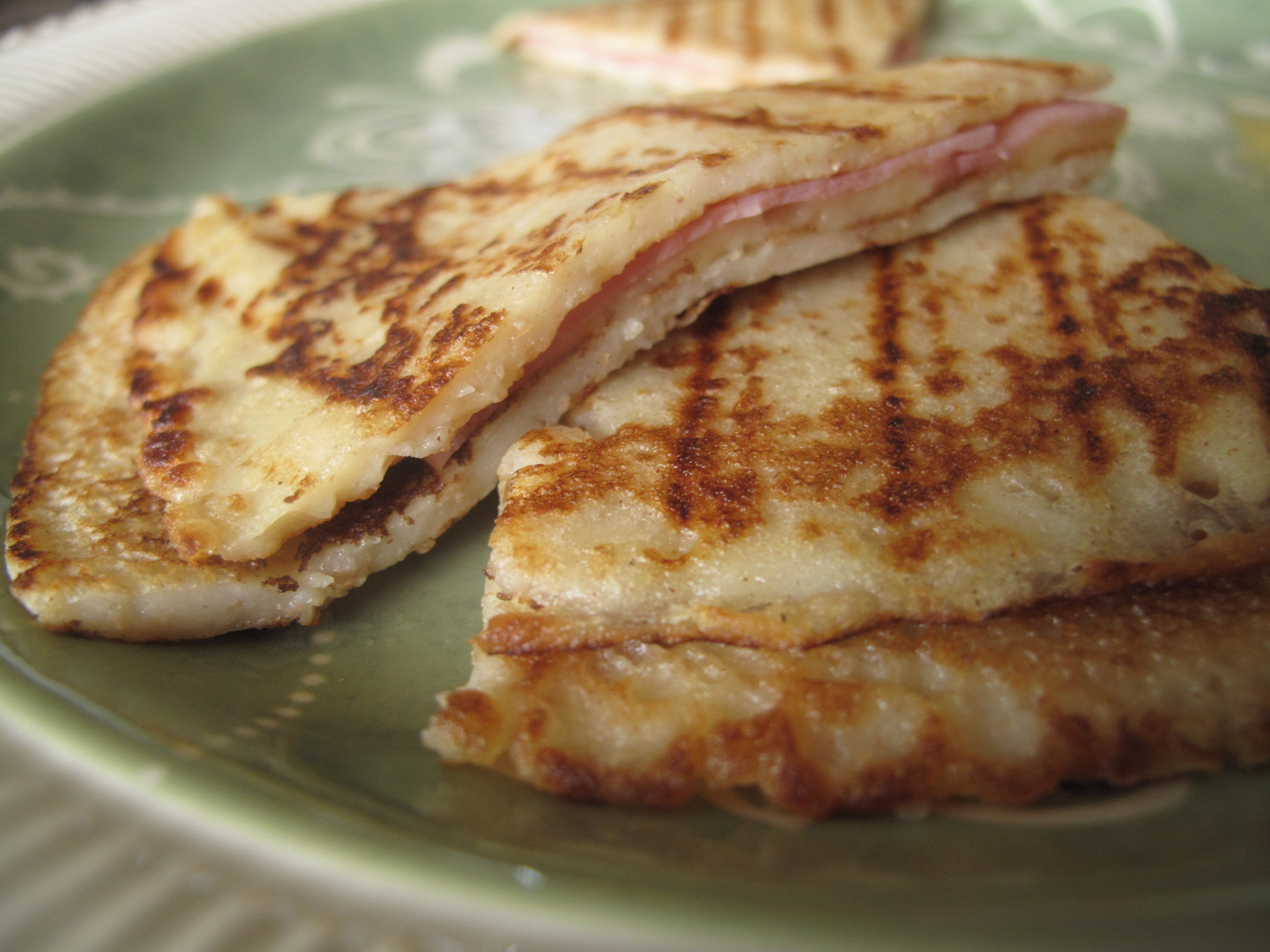 Cheese and Ham Quesadilla