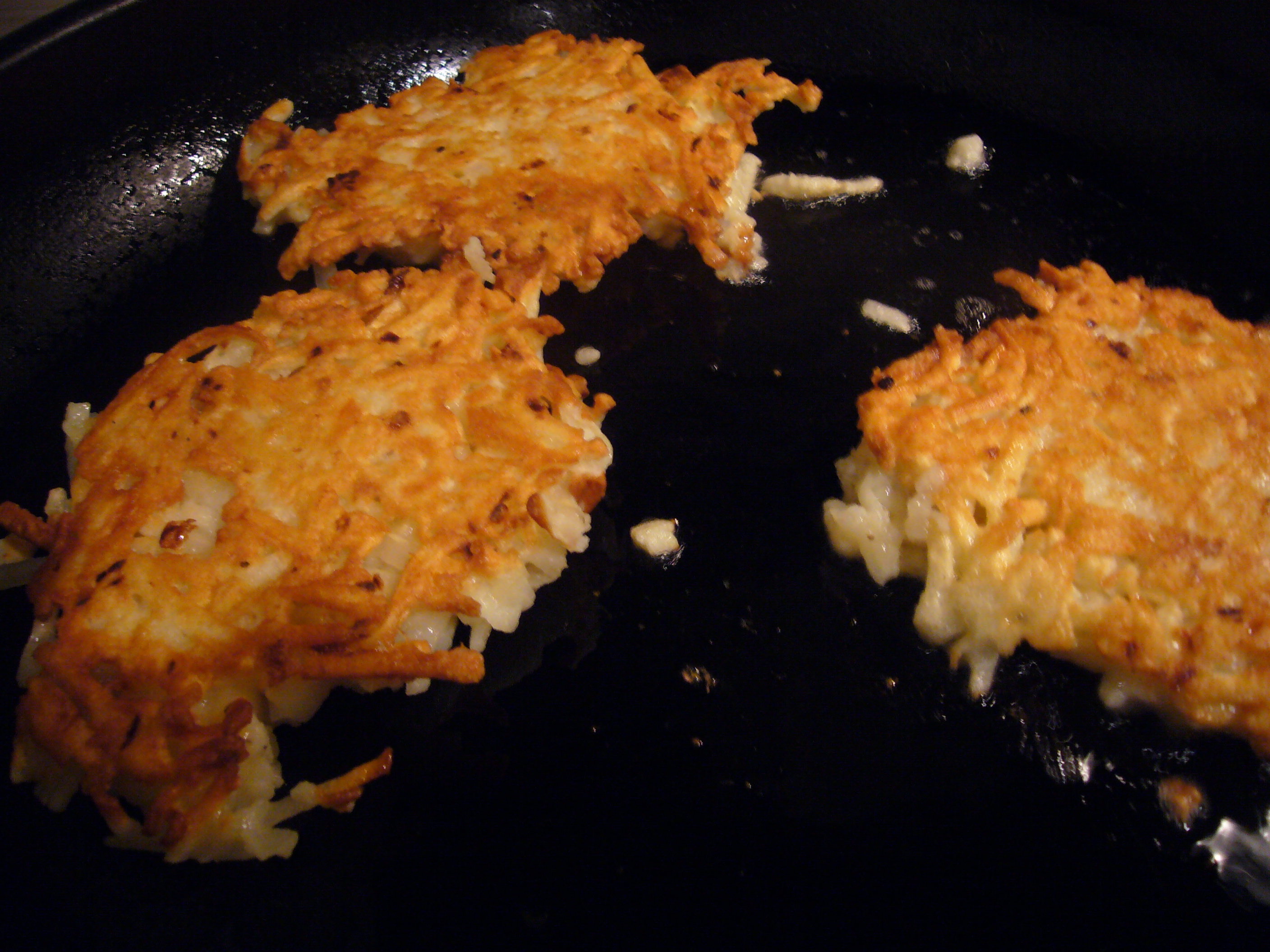 The 'Everything' Potato Pancake