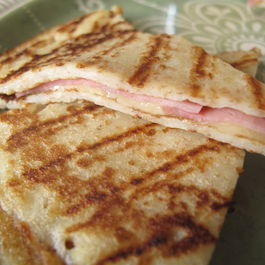 Cheese and Ham Quesadilla