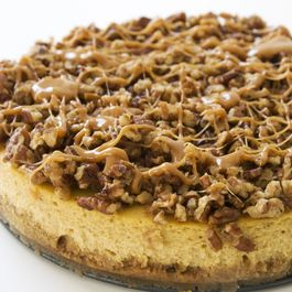 Spiced pumpkin cheesecake
