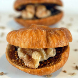 Turkish Figs with Anise and Walnuts