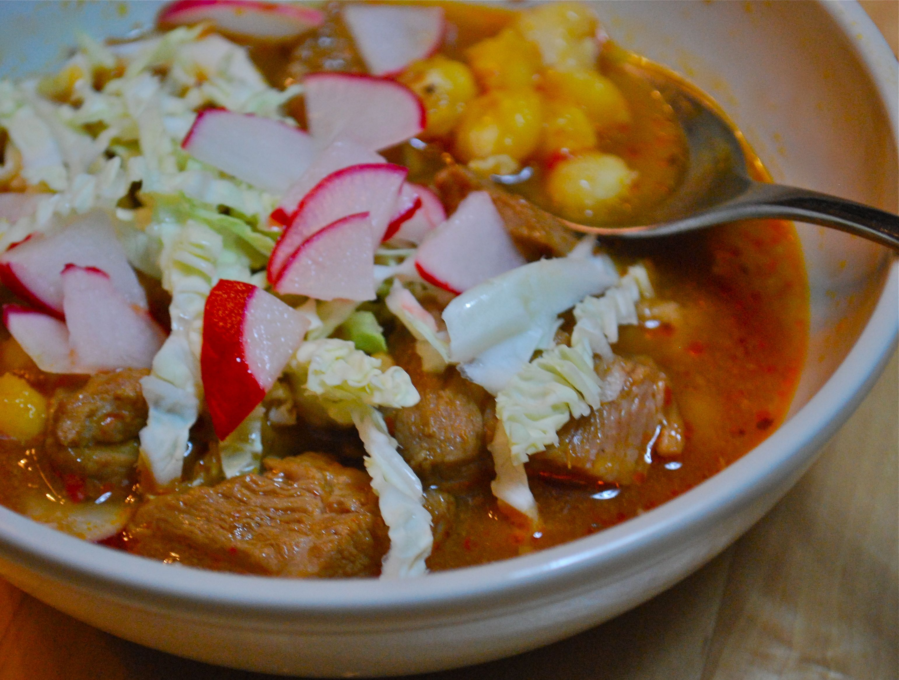 Warming Red Pozole Recipe on Food52