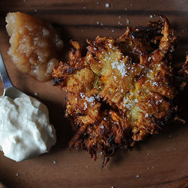 Latkes by hungrymarquise